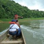 Im Kanu mit Emberá-Indianern