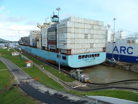 Panama-Kanal, Miraflores-Schleusen