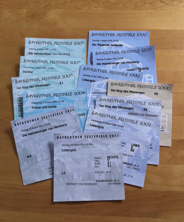 Karten für die Bayreuther Festspiele