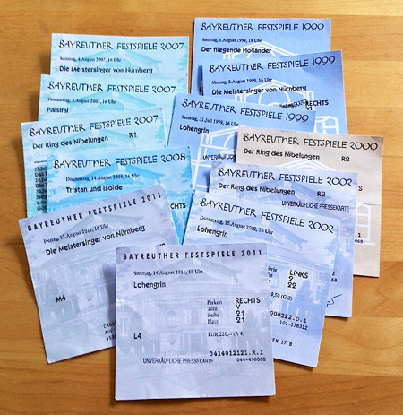 Tickets Bayreuther Festspiele