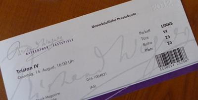 Bayreuther Festspiele Tickets Tickets Bayreuth