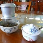 Kaffeepause in Vietnam