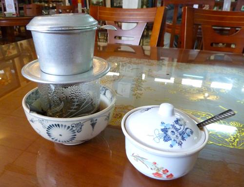 Rast auf Reisen: Kaffeepause in Vietnam