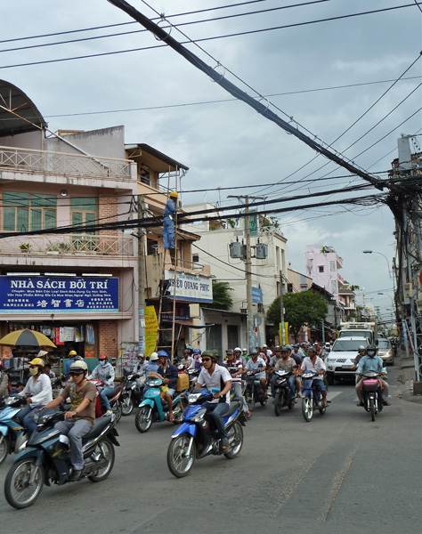 Elektriker in Saigon