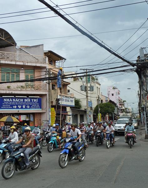 Elektriker in Saigon