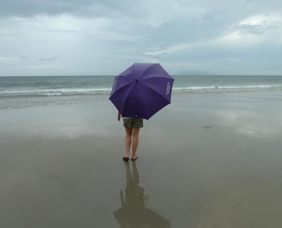 Am Strand von Danang in Vietnam