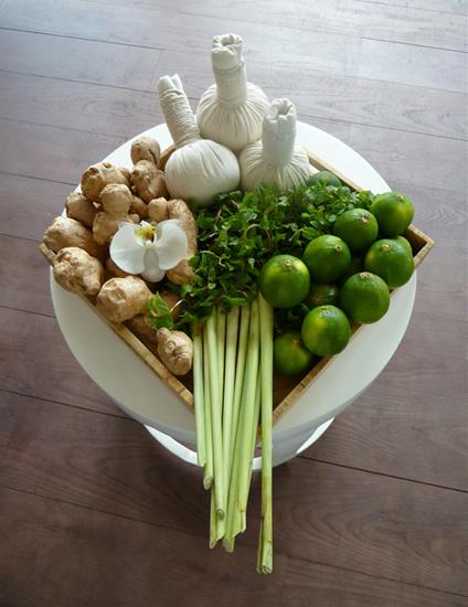 Spa mit Ingwer in Vietnam