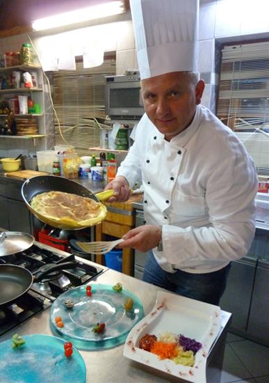 Zlatko Velic, Chefkoch im Seealmstüberl in Werfenweng