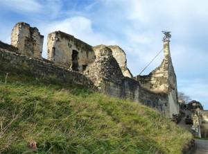 Burgruine in Valkenburg