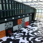Die Halle des Kameha Grand