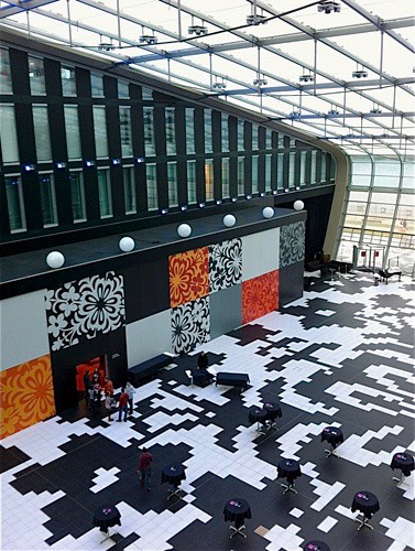 Halle des Kameha Grand in Bonn