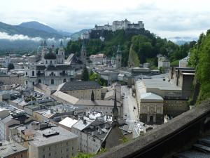 Blick auf Salzburg