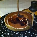 Schokolade auf der Girolle