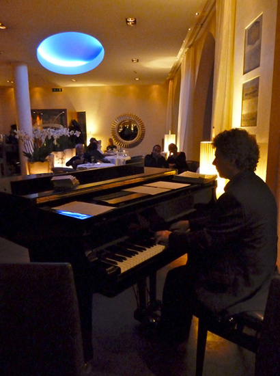 Pianokonzert im Des Balances - Programmpunkt beim Lucerne Festival am Piano