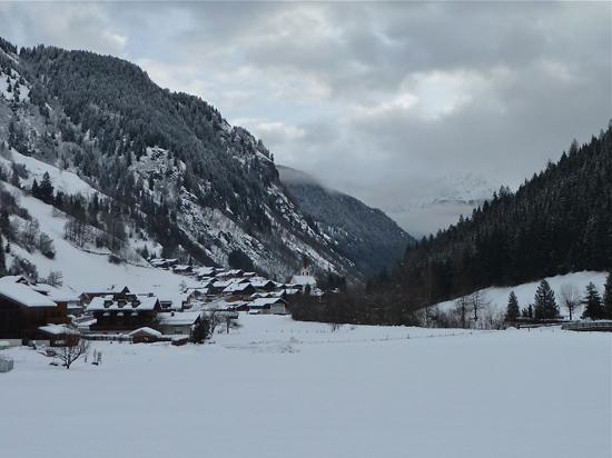 Blick auf Hopfgarten in Osttirol