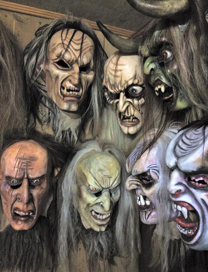 Masken für die Krampuszeit