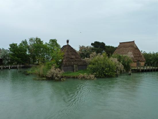 Casoni in der Lagune
