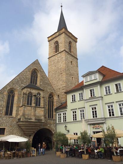 Die Ägidienkirche am Wenigemarkt in Erfurt
