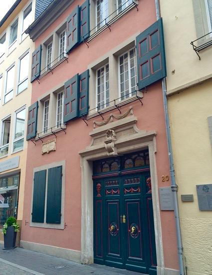 Das Beethovenhaus - das Vorderhaus