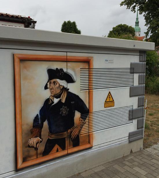 Streetart in Doberlug