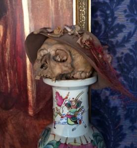 Der Tod mit Hut