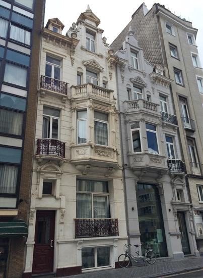 Häuser in Ostende
