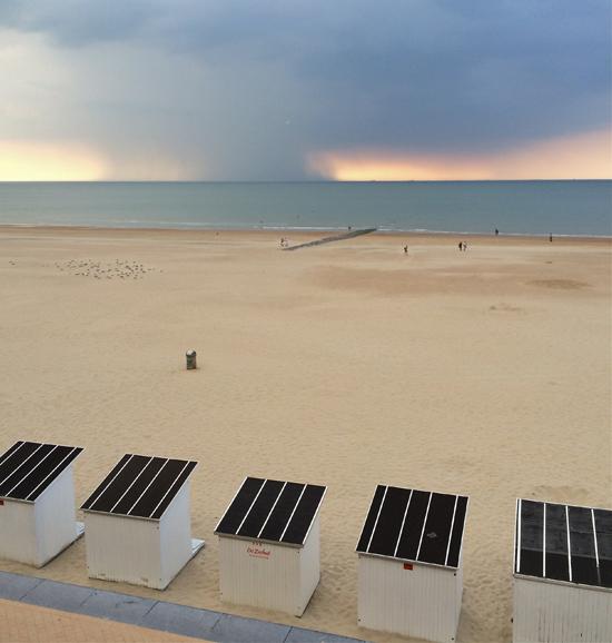 Strand von Ostende