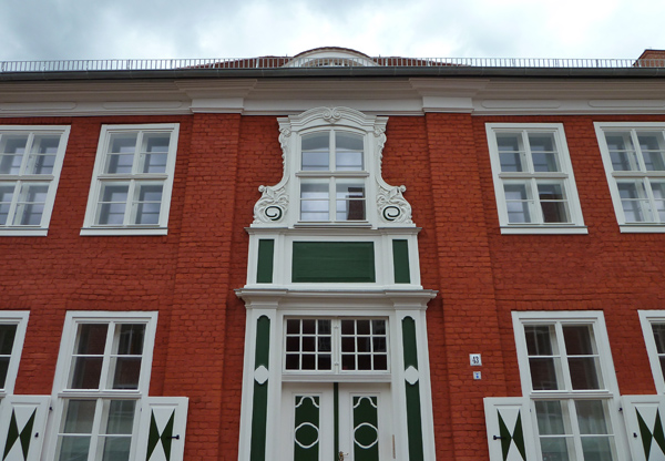 Fassade im Holländischen Viertel