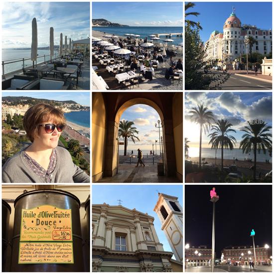 Urlaub im November - Bilder von Nizza