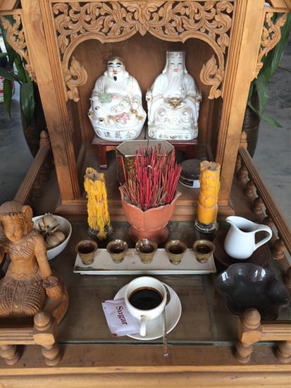 Altar in Kambodscha
