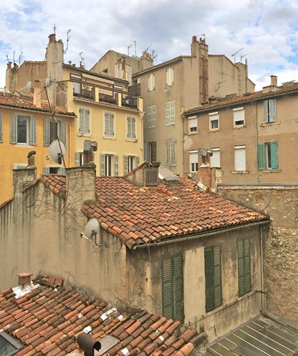 Dächer von Marseille