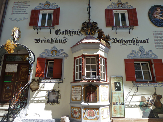 Das Gasthaus Batzenhäusl in Kufstein