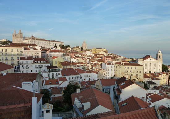 Ausblick in Lissabon