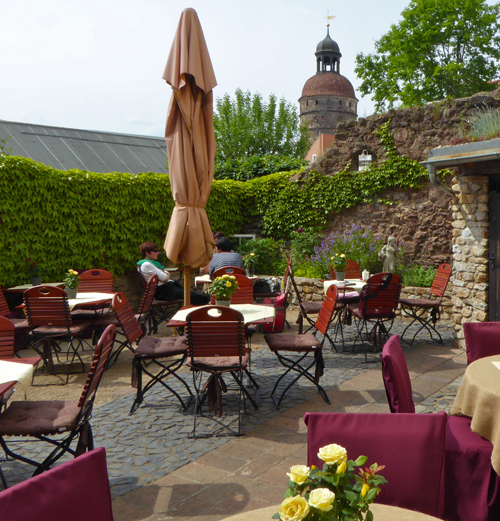 Café Lucullus - Garten
