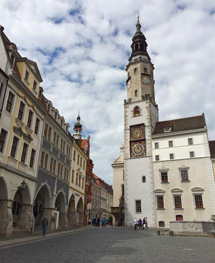 Untermarkt in der Zipfelstadt Görlitz