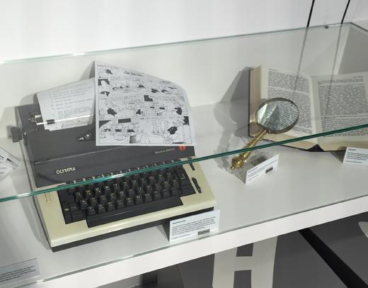 Schreibmaschine von Erika Fuchs