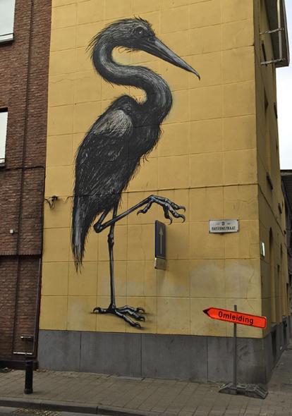 Streetart in Gent