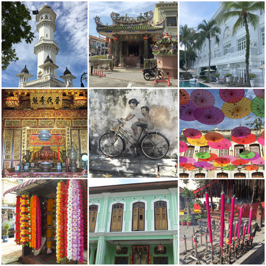 George Town, ein buntes Stück Malaysia