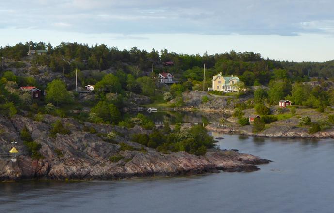 Schärenlandschaft vor Stockholm