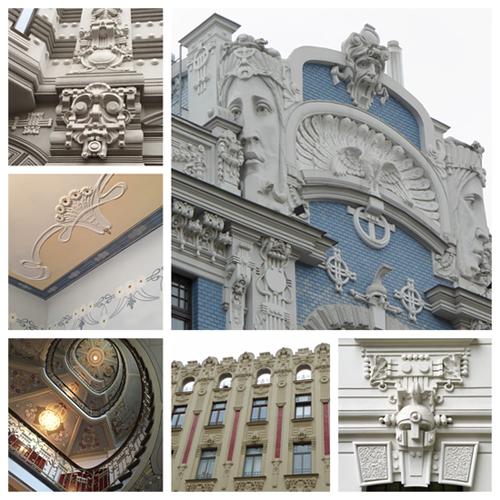 Prächtig: Der Jugendstil in Riga