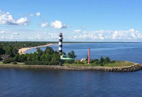 Leuchtturm vor Riga