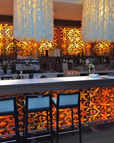 Bar im Hotel Tallink Riga