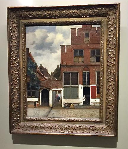 Vermeer: Kleine Straße in Delft