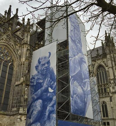 Aufstieg zur Kathedrale