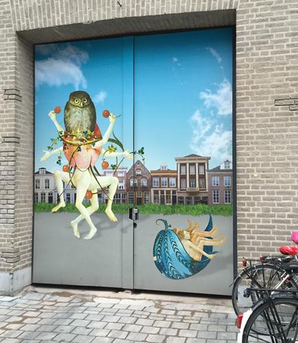 Streetart in 's-Hertogenbosch