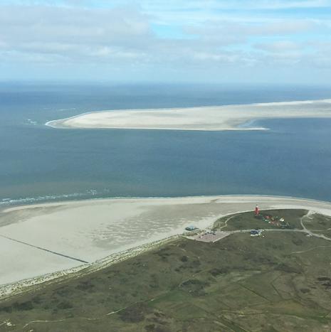 Rundflug über Texel