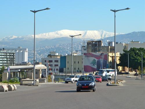 Der Märtyrerplatz in Beirut