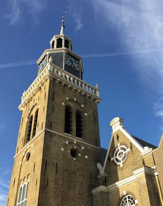 Kirchturm in Joure