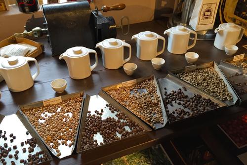 Kaffeekunde im Museum Joure