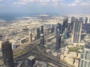 Blick auf Dubai